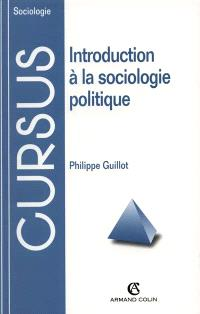 Introduction à la sociologie politique