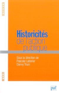 Historicités de l'action publique