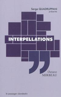 Interpellations