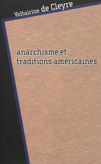 Anarchisme et traditions américaines