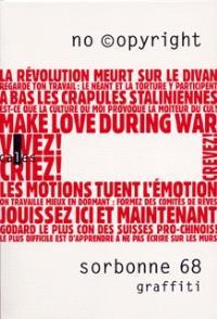 Sorbonne 68, graffiti
