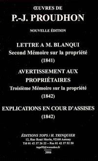 Oeuvres de P.-J. Proudhon