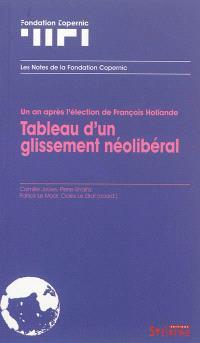 Un an après l'élection de François Hollande : tableau d'un glissement néolibéral