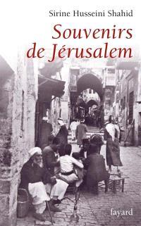 Souvenirs de Jérusalem