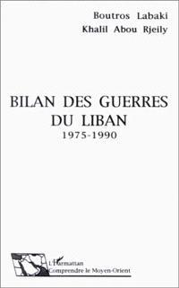 Bilan des guerres du Liban : 1975-1990