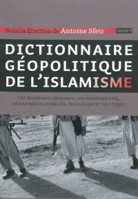 Dictionnaire géopolitique de l'islamisme : les différents courants, les personnalités, les racines culturelles, religieuses et politiques