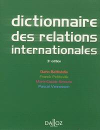 Dictionnaire des relations internationales : approches, concepts, doctrines : 2012