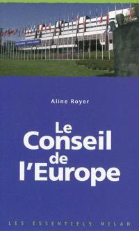 Le Conseil de l'Europe