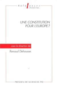 Une Constitution pour l'Europe ?