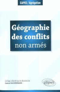 Géographie des conflits non armés
