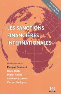 Les sanctions financières internationales
