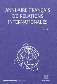 Annuaire français de relations internationales. Volume 12, 2011