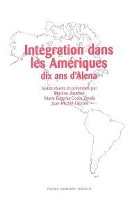 Intégration dans les Amériques : dix ans d'Alena