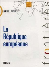 La république européenne