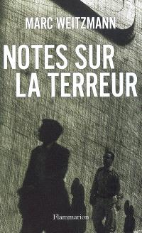 Notes sur la terreur
