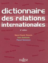 Dictionnaire des relations internationales : approches, concepts, doctrines