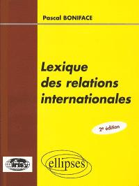 Lexique des relations internationales