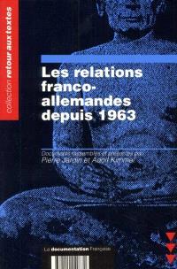 Les relations franco-allemandes depuis 1963