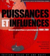 Puissances et influences 2000-2001