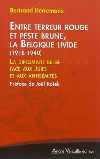 Entre terreur rouge et peste brune, la Belgique livide, 1918-1940 : la diplomatie belge face aux Juifs et aux antisémites
