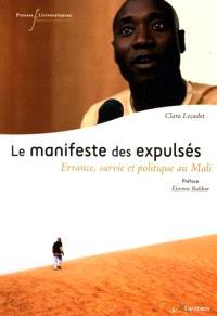 Le manifeste des expulsés : errance, survie et politique au Mali