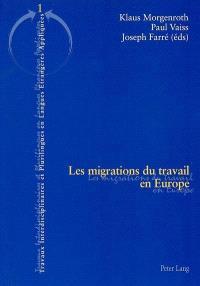 Les migrations du travail en Europe