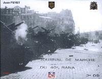 Journal de marche du 40e Rana, 2e DB