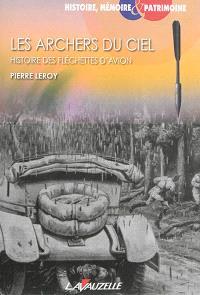 Les archers du ciel : histoire des fléchettes d'avion