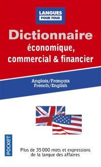 Dictionnaire économique, commercial et financier : anglais-français, French-English