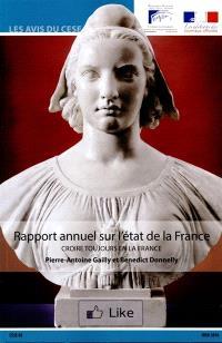 Rapport annuel sur l'état de la France : croire toujours en la France