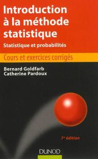Introduction à la méthode statistique : statistique et probabilités