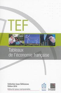 TEF, tableaux de l'économie française