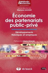 Economie des partenariats public-privé : développements théoriques et empiriques