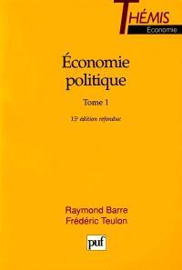 Economie politique. Volume 1
