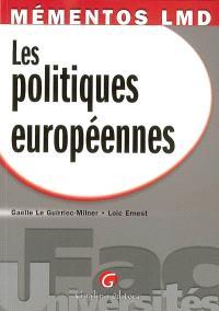 Les politiques européennes