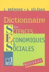 Dictionnaire de sciences économiques et sociales