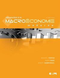 Introduction à la macroéconomie moderne