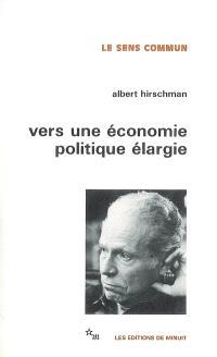 Vers une économie politique élargie