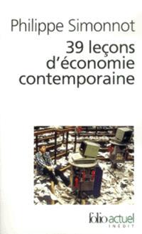 39 leçons d'économie contemporaine
