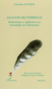 Analyse sectorielle : méthodologie et application aux technologies de l'information