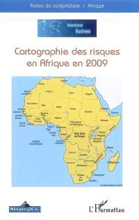 Cartographie des risques en Afrique en 2009