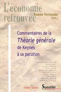 Commentaires de la Théorie générale de Keynes à sa parution