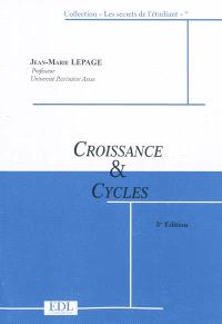 Croissance et cycles