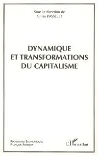 Dynamique et transformations du capitalisme