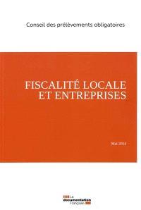 Fiscalité locale et entreprises : mai 2014