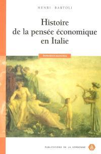 Histoire de la pensée économique en Italie