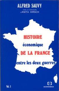 Histoire économique de la France entre les deux guerres : 1