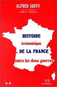 Histoire économique de la France entre les deux guerres : 3