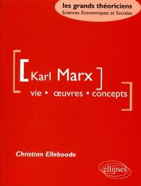 Karl Marx : vie, oeuvres, concepts