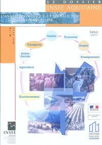 L'année économique et sociale 2010 en Aquitaine